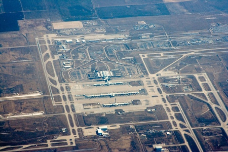 ANOTHER VIEW OF THE DENVER AIRPORT SWASTIKA RUNWAY DESIGN