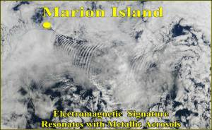 Satellite View of Marion Island
