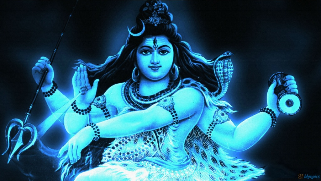 LORD SHIVA, ONE OF THREE SPIRITUAL ENTITIES FOUND IN